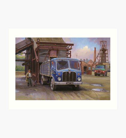 AEC Mercury Mk II  tipper Art Print