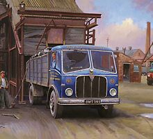 AEC Mercury Mk II  tipper by Mike Jeffries