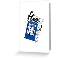 Hello Who? Greeting Card
