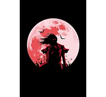 Alucard - True Vampire Photographic Print