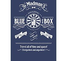 The Madmans's Blue Box Photographic Print
