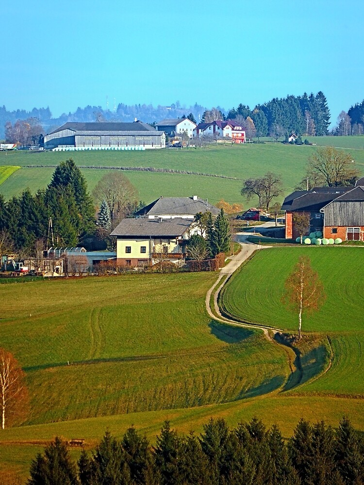 Beautiful traditional farmland scenery II | landscape photography by Patrick Jobst