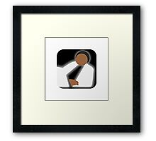There's an app for that Thriller Framed Print