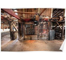 Toganmain Woolshed Poster