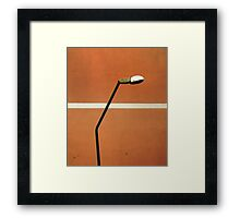 Street design  Framed Print