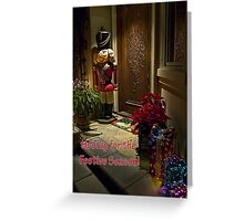 Home for Christmas - card Greeting Card