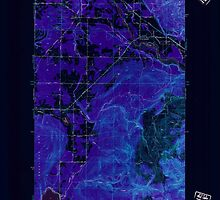 USGS Topo Map Washington State WA Lawrence 241956 1952 24000 Inverted by wetdryvac