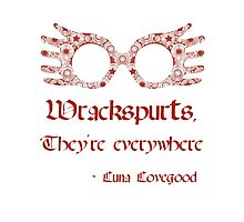 Wrackspurts, they're everywhere Photographic Print