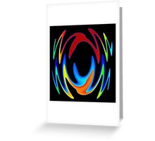 Dance In Color Greeting Card