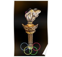 XXII Winter Olympic Games Poster