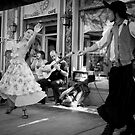 Passionate Dancers in Caminito by Freelancer