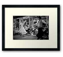 Passionate Dancers in Caminito Framed Print