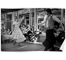 Passionate Dancers in Caminito Poster