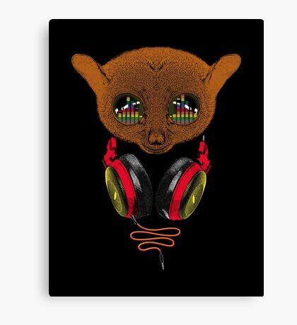 DJ Tarsier Canvas Print