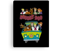 Scooby Cartoon Scooby-Doo Canvas Print