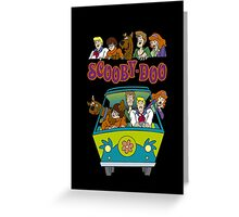 Scooby Cartoon Scooby-Doo Greeting Card