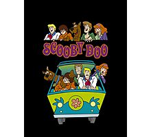 Scooby Cartoon Scooby-Doo Photographic Print
