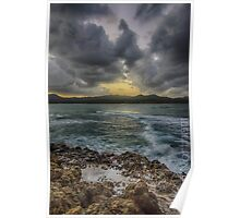Storms in Puerto Plata Poster