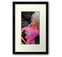 "1980's Barbie ""GARBY"" Framed Print"