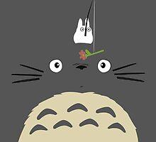 Cute Totoro  by Minette Wasserman