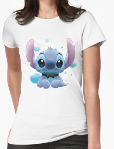 Stitch - Class Womens Fitted T-Shirt