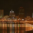 Rochester at Night by Raider6569