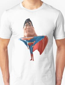 Superman illustration caricature T-Shirt