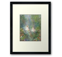 And They Danced And Danced  Framed Print