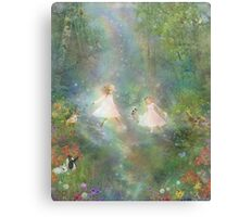 And They Danced And Danced  Canvas Print