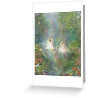 And They Danced And Danced  Greeting Card