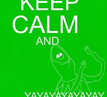 Keep Calm and Kermie On by Qooze