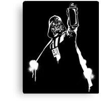 Darth Vader Graffiti Canvas Print