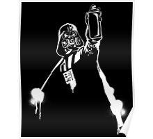 Darth Vader Graffiti Poster
