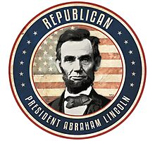 Republican President Abraham Lincoln Photographic Print