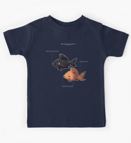 Anatomy of a Goldfish Kids Tee