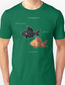 Anatomy of a Goldfish T-Shirt