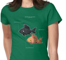 Anatomy of a Goldfish Womens Fitted T-Shirt