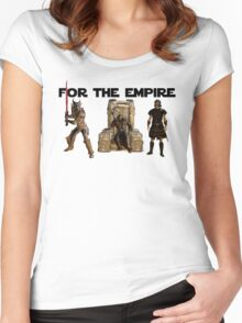 For the Empire Women's Fitted Scoop T-Shirt