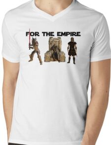 For the Empire Mens V-Neck T-Shirt