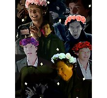 Sherlock in season three Photographic Print