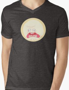Rick and Morty - Screaming Sun Mens V-Neck T-Shirt