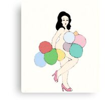Balloon Dance Canvas Print