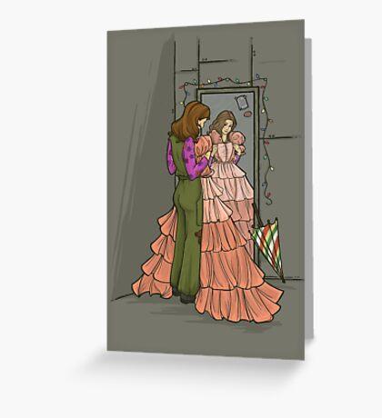 The Shindig Dress Greeting Card