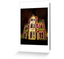 0342 Melbourne - White Night 2 Greeting Card