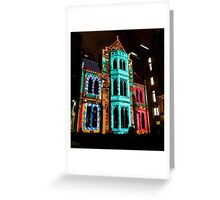 0346 Melbourne - White Night 6 Greeting Card