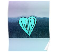 Wild Heart: Trillium Lake, Oregon Poster