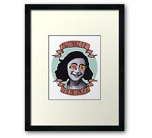 Communist Daughter Framed Print