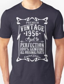Premium Vintage 1956 Aged To Perfection All Original Parts T-Shirt