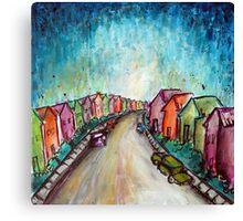 The Street Near My Street Canvas Print