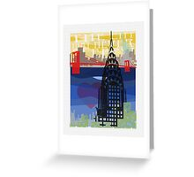 The City That Never Sleeps Greeting Card